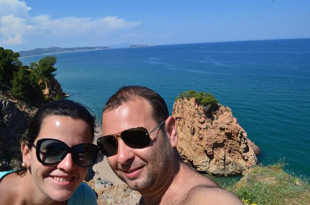 Pri e Chris na Costa Brava