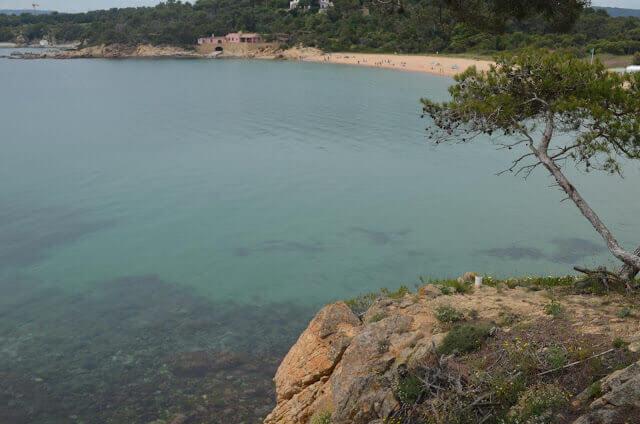 Praia do Castelo de Palamós (Playa del Castell Palamós)