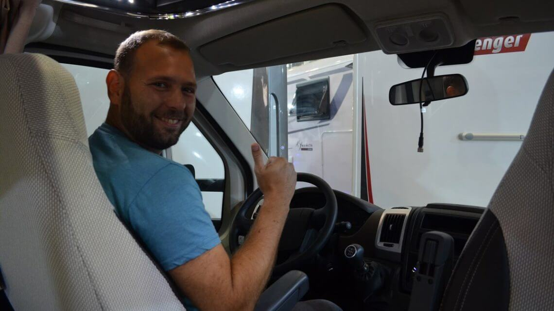 What type of skills necessary to drive a motorhome?