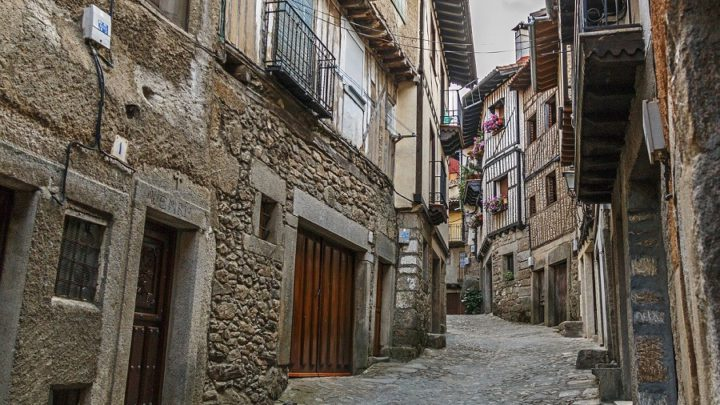 La Alberca um pueblo espanhol de antes da época Romana