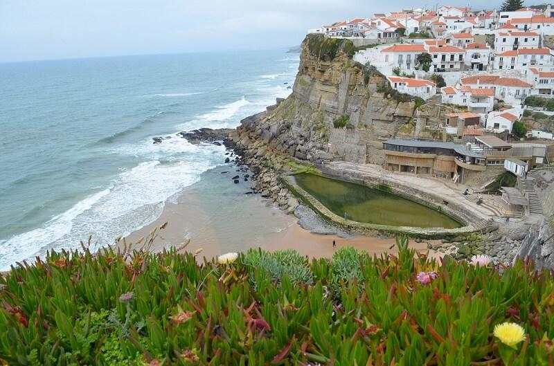 Azenha do Mar, una de las mejores playas alrededor de Lisboa