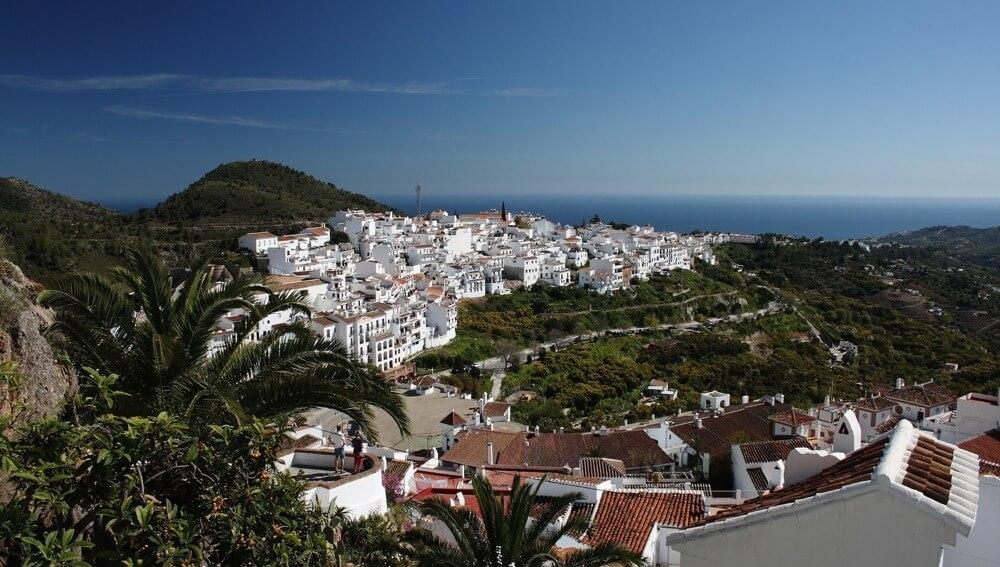 village Frigiliana, l'un des plus beaux de l'Espagne