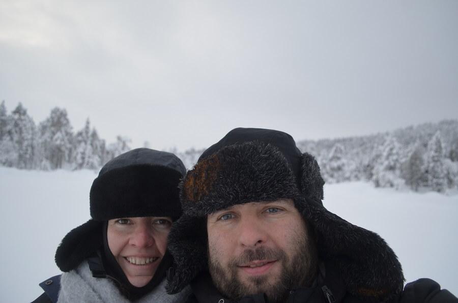 Ivalo, na Lapônia Finlandesa