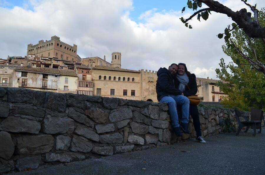 Valderrobres, na provincia de Teruel