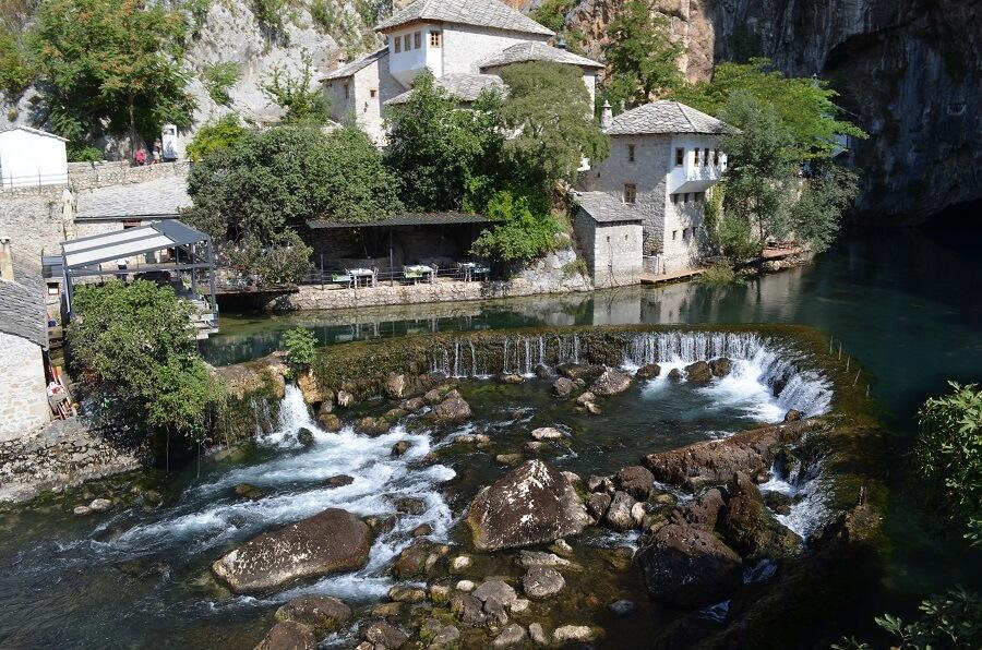 Blagaj um lugar místico da Bósnia e Herzegovina