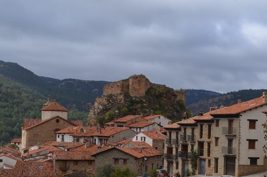 Linares de Mora é uma pequena cidade medieval da província de Teruel