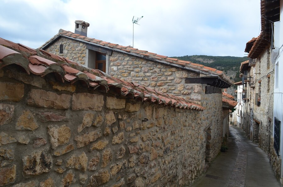 Linares de Mora cidade Medieval