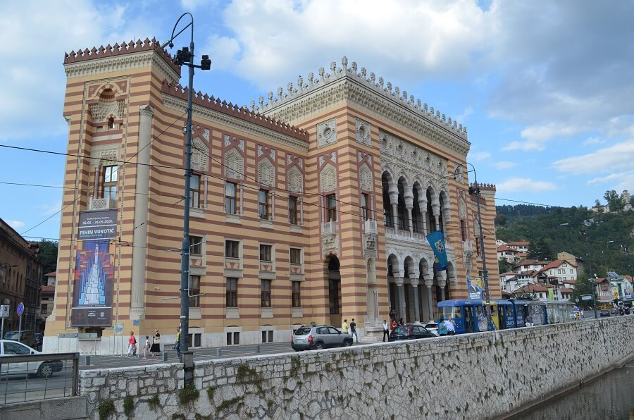 prefeitura de Sarajevo