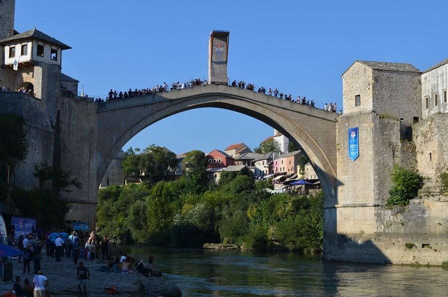 Cliff Diving da Red Bull em Mostar