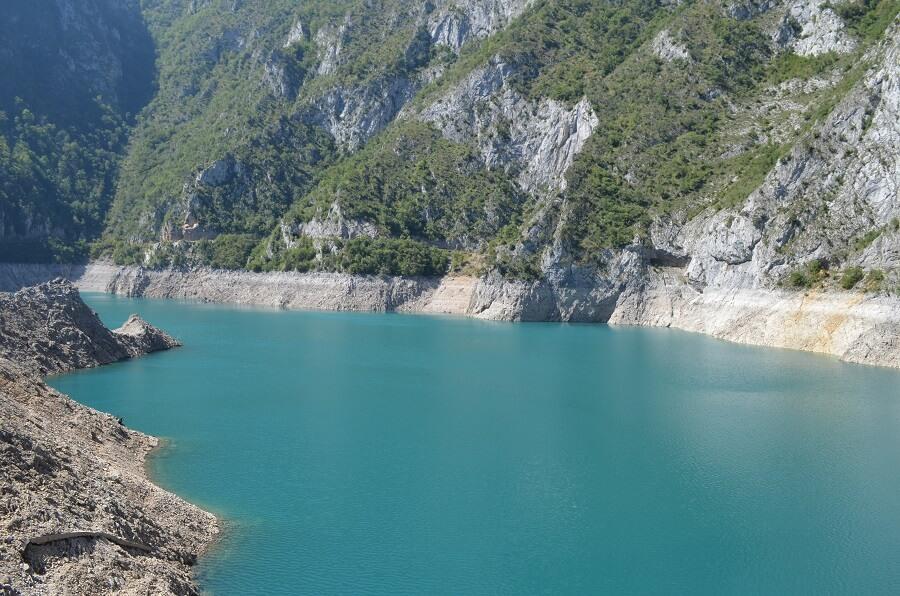 Monténégro Piva lac