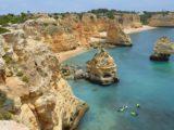 As melhores praias de Algarve, u Portugalu