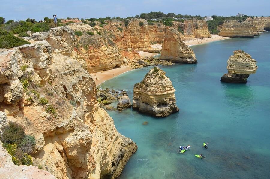 As melhores praias do Algarve, em Portugal