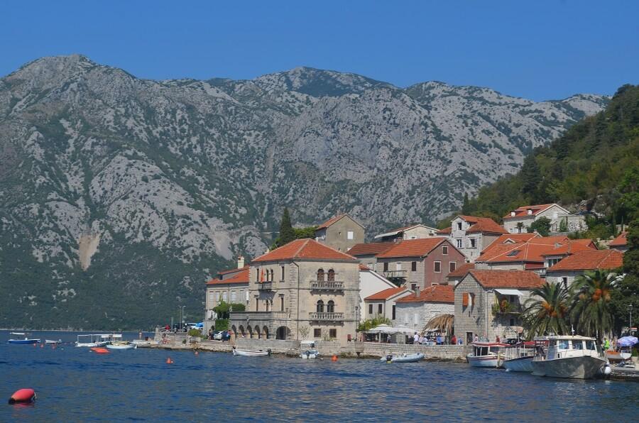 Perast i Montenegro