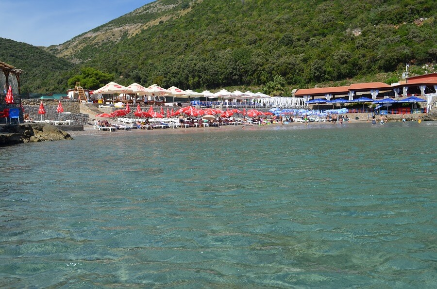 spiaggia di Trsteno