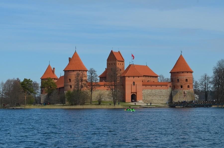 Castelo de Trakai, a Lituània