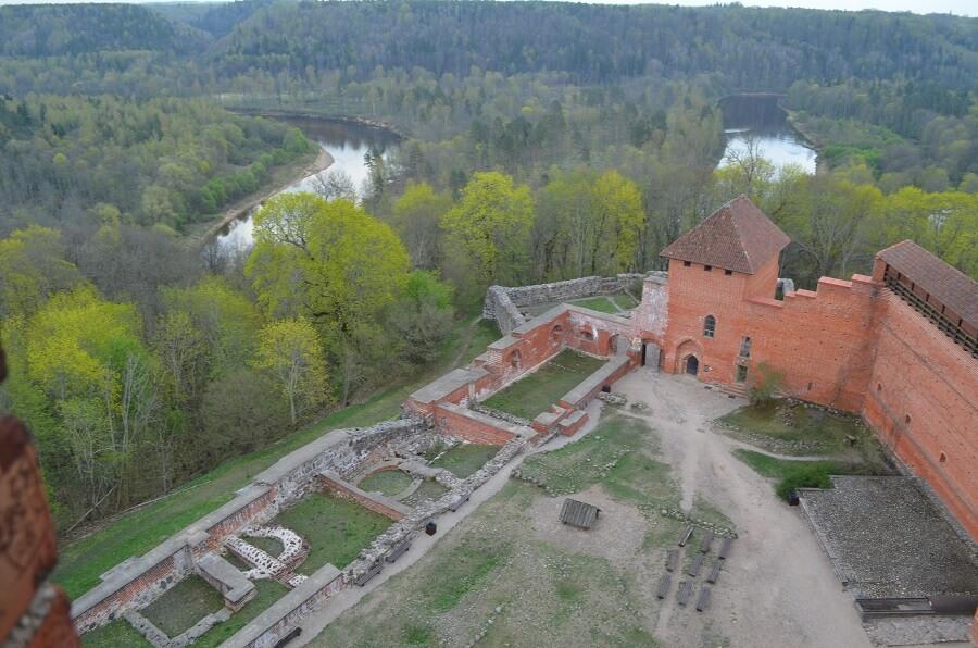 Castelo na Letônia