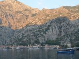 Muo, ville sur les rives de la baie de Kotor au Monténégro