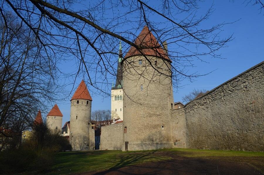 Cidade medieval de Tallinn