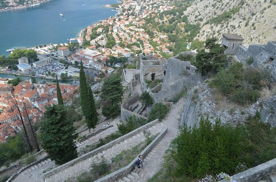 sucio, Montenegro