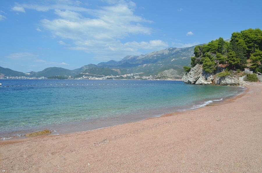 praias de Sveti Stefan