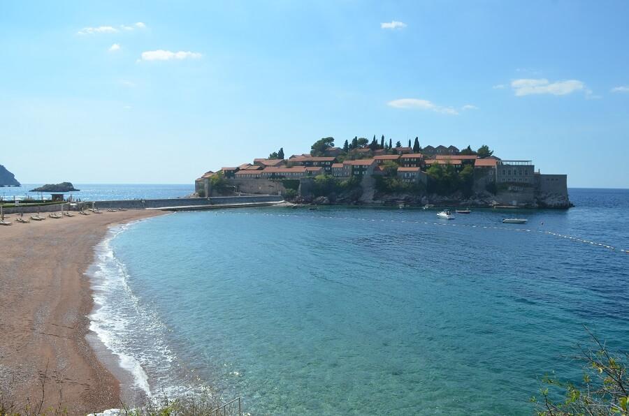 praias di Sveti Stefan