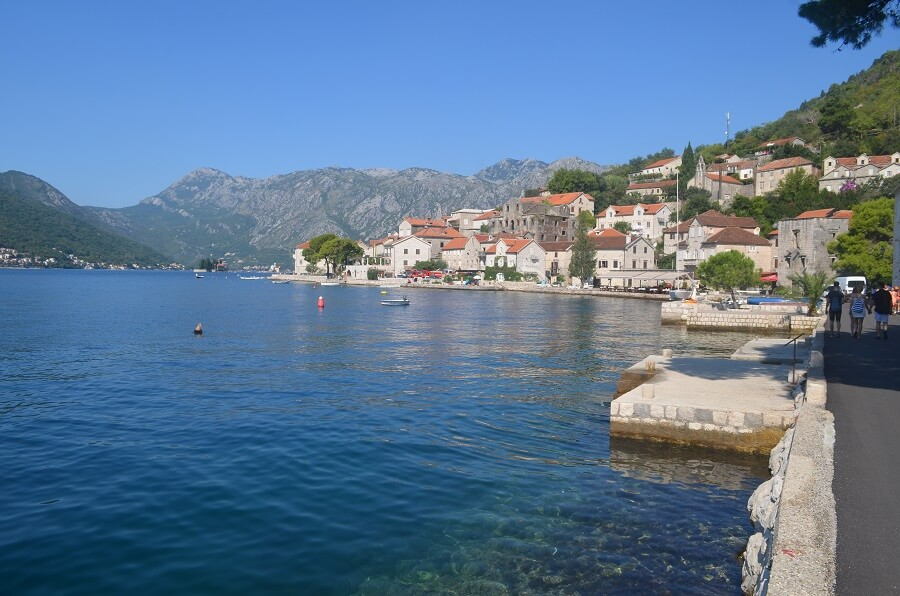 Perast, the charming town of Kotor Bay