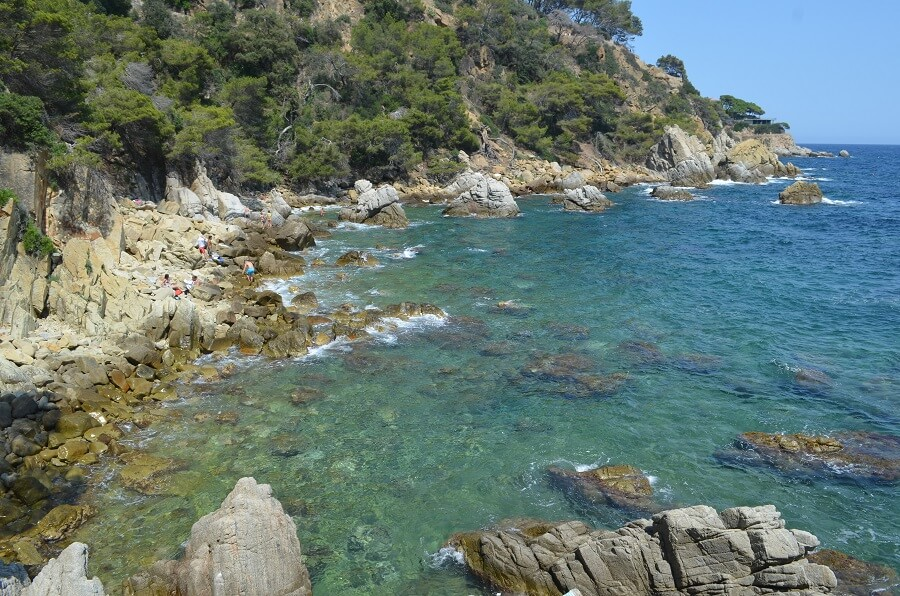 Praia deCala dels Frares