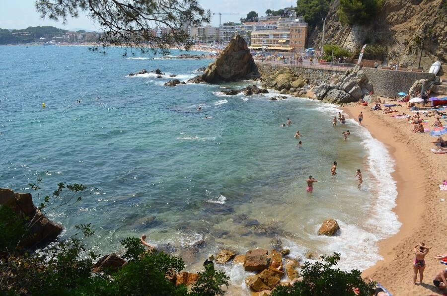 Praia de Sa Caleta Lloret