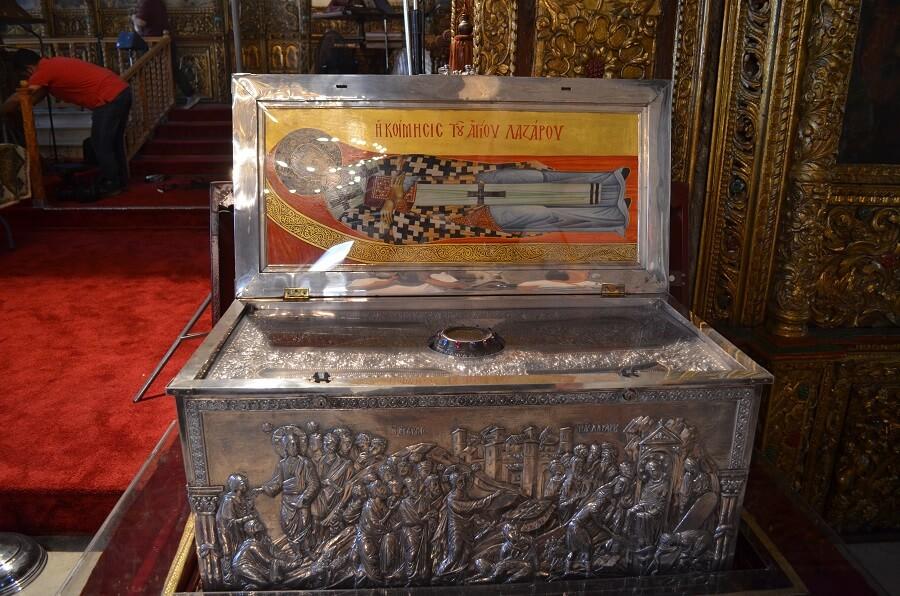 restos mortais de Lázaro de Betânia