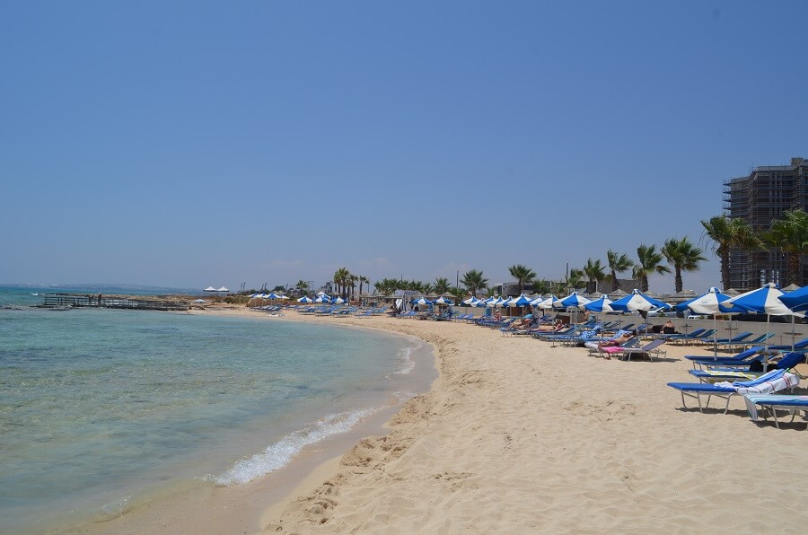praia de Ayia Thekla (Ayia Thekla Beach)