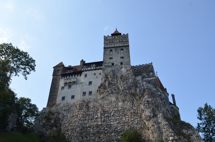 Castelo de Bran e do Dracula