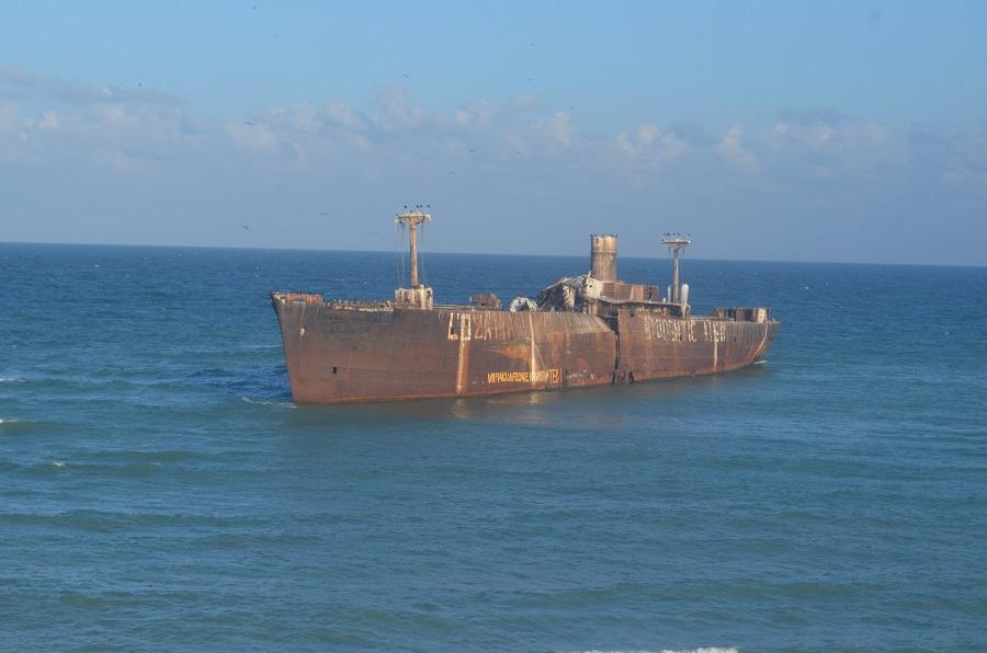 barco Evangelia Shipwreck