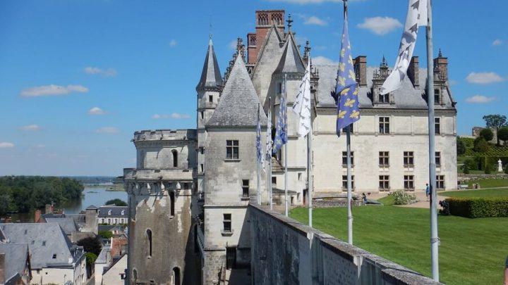 Castelo de Amboise e seu estilo de móveis Luis XV
