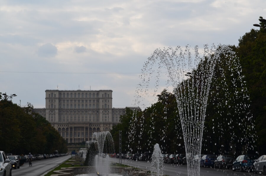 Avenida Bulevardul Unirii, Bucareste na Romênia
