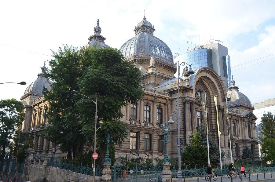 CEC-palatsi, Bukarest Romaniassa