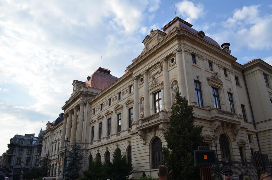 matkailunähtävyydet, Bukarest Romaniassa