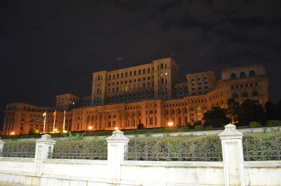 Parlamentin palatsi, Bukarest, Romania