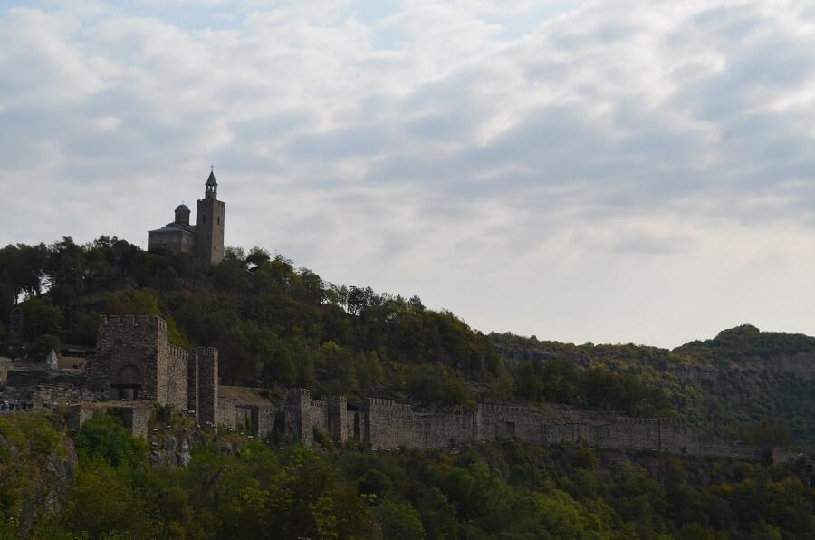 Veliko Tarnovo antiga capital da Bulgária