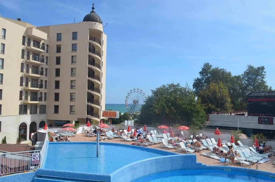 Hotel & quot; Erma & quot;, goldener Sand