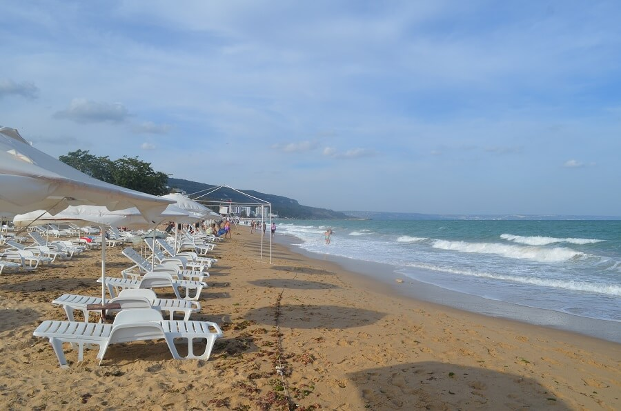 Praia de Golden Sands