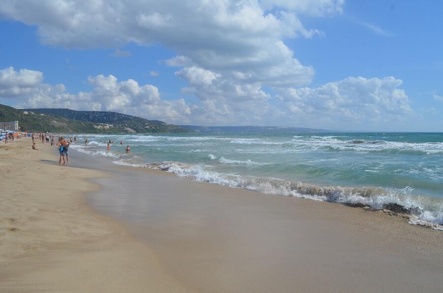 Albena costa norte Bugaria