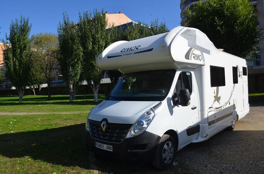 location motorhome en Espagne et en Europe