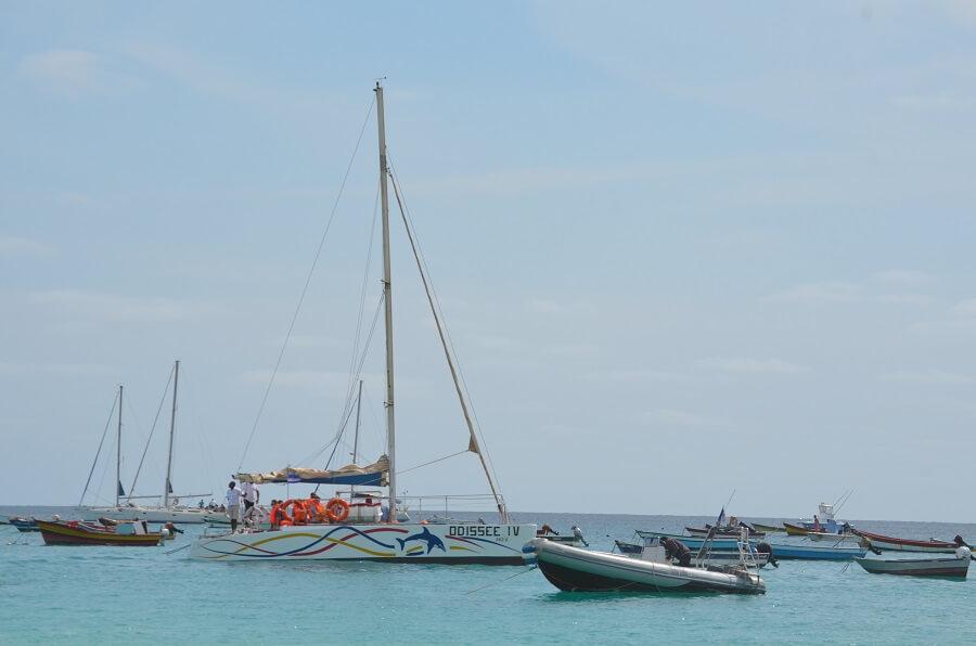 Catamarán Tour Sal, Cabo Verde