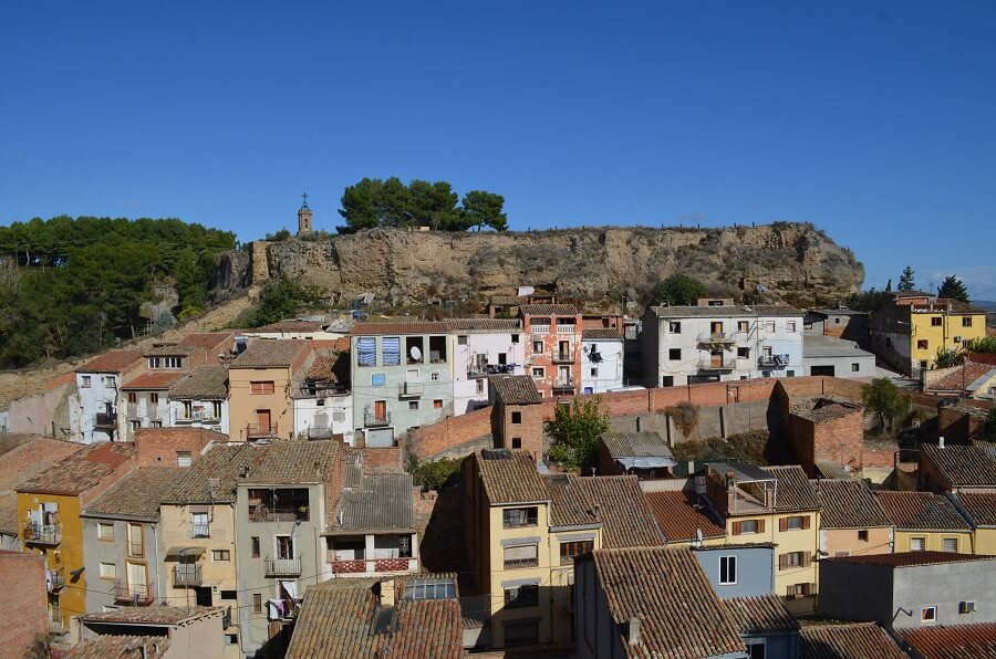 The walls of the medieval town of Balaguer