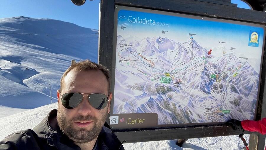 Qual o valor para esquiar na Estação de Esqui de Cerler?