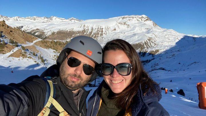 Estação de Esqui de Cerler, nos Pirineos Aragoneses, Espanha