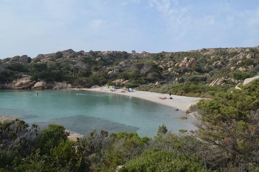 la plage de Cala Garibaldi