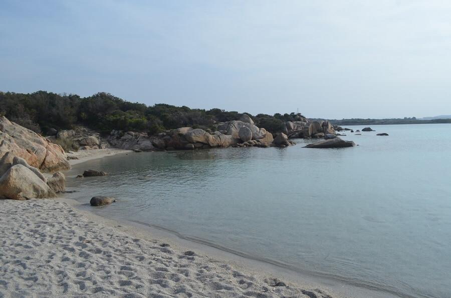 la plage de Cala Caprese
