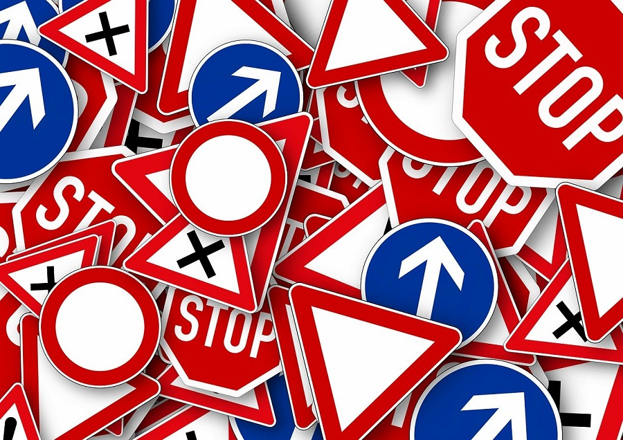 Sinalização de tráfego para Motorhomes na Europa