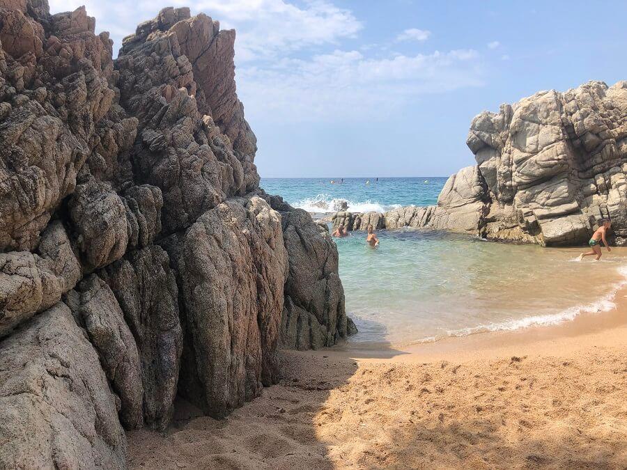 Cala dels Frares (Lloret de Mar)